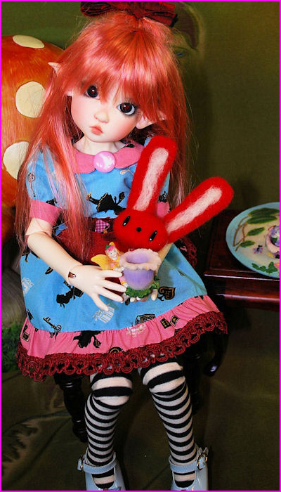 Annabella in Dress from Free Pattern on Jpop Dolls