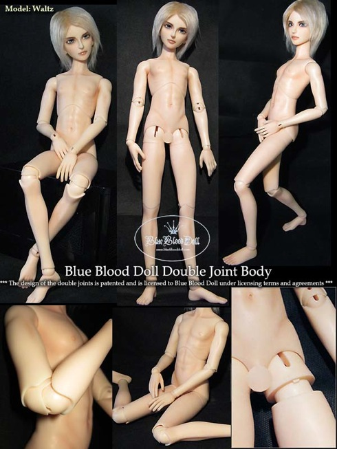 BlueBlood boy body