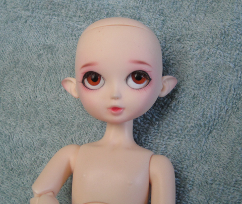 20 cm Fay wih Doll Leaves factory face-up