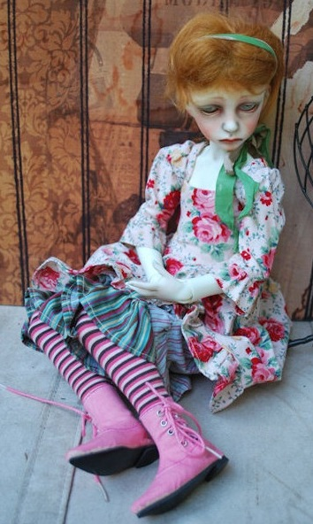 OOAK Dolls Town Seola with face-up & fullset by Marbled Halls