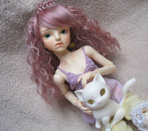 Dorothy with 1/4 size Planet Doll Tara