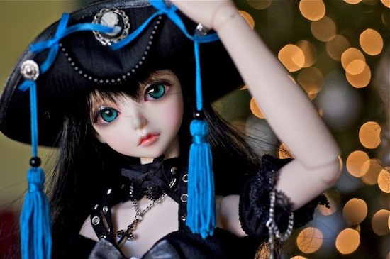 Peak's Woods Fairy of Color (58 cm) Goldie, normal skin, wearing Love 'N the Ice by DollHeart