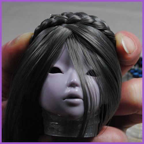 22cm goat Wig Size 8.5 SD wig Wig for Feeple60