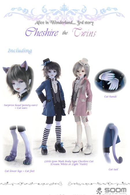 Cheshire Cat - The Twins