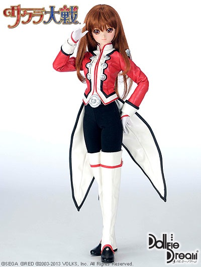 Sakura Taisen Erica Fontaine uniform