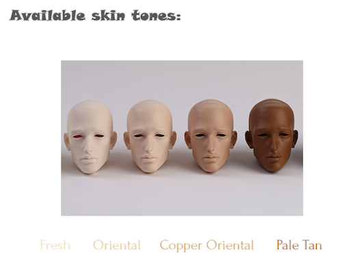 dollshe resin colors