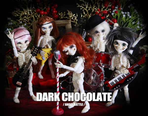 Angel Battle's new Skull band 'Dark Chocolate'