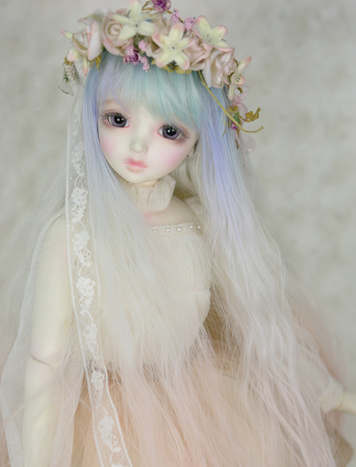 Blue Fairy art wig