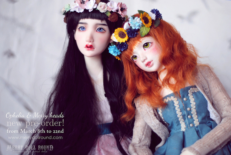 Ophelia and Merry