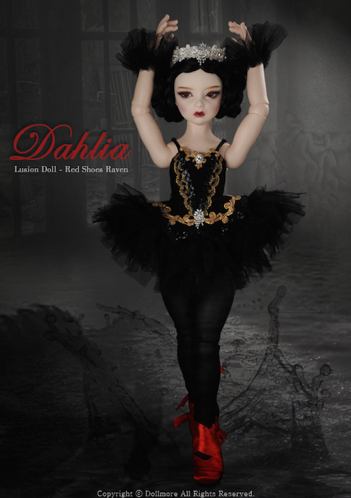 Red Shoes Raven Dahlia1