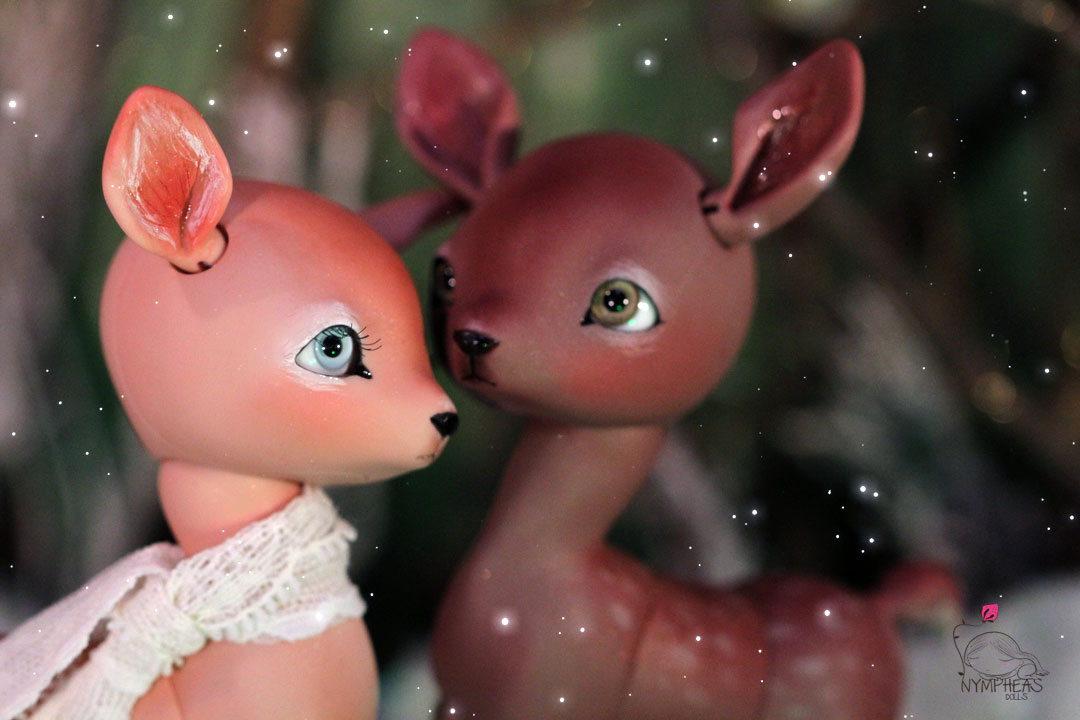 Fanny the Deer strawberry and chocolate