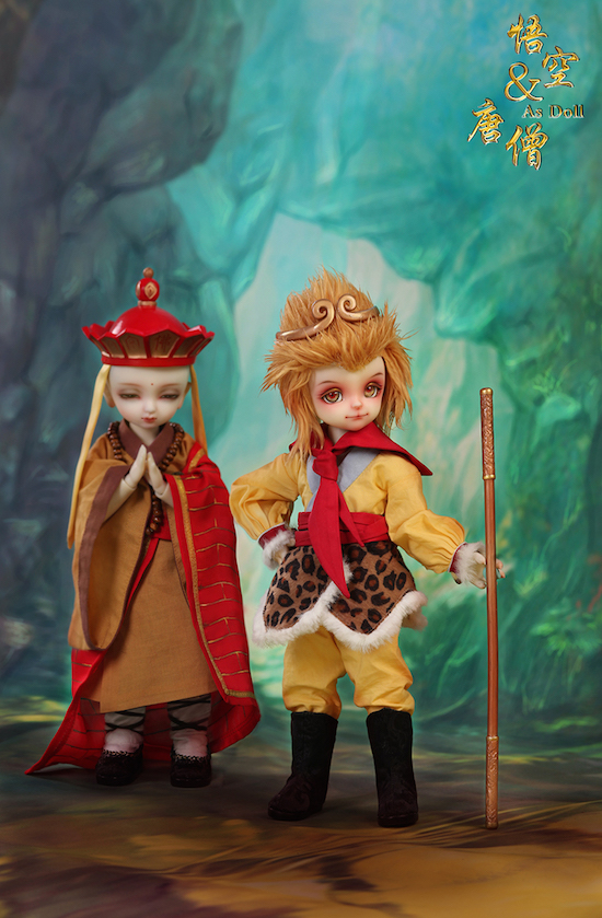 Tang Monk and The Monkey King
