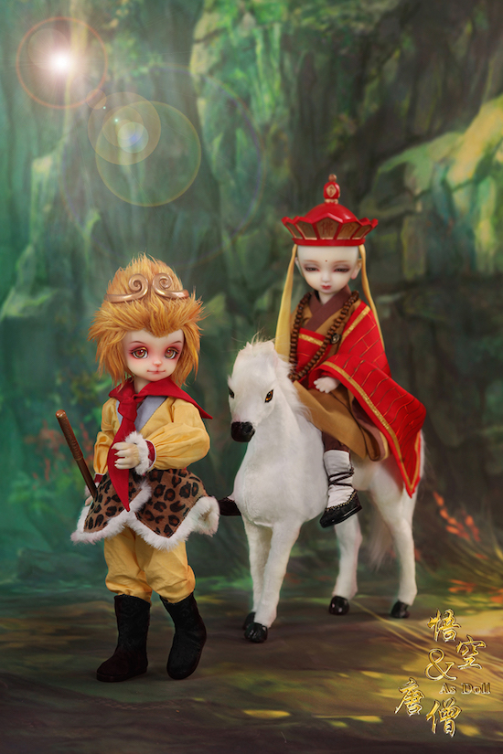 Tang Monk and The Monkey King1