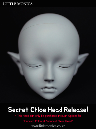 secret chloe head