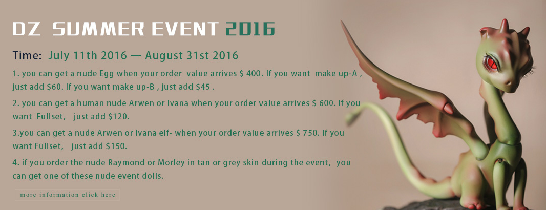 dollzone summer event 2016