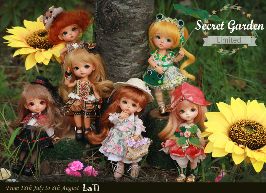lati secret garden dolls