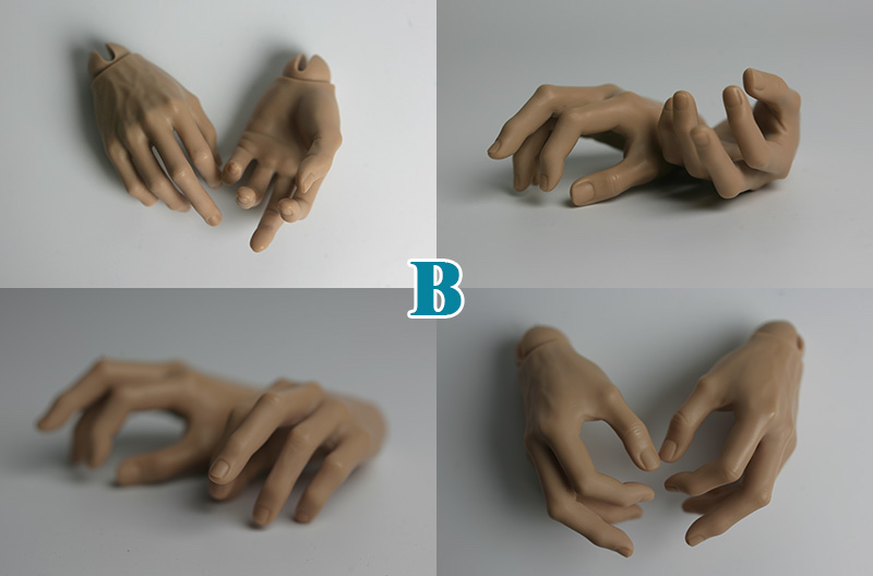 1optional hands B